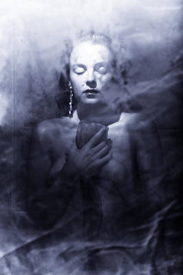 Ghost Photograph - Ghost Woman by Scott Sawyer