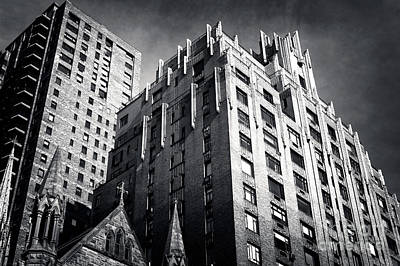 Photograph - Ghostbusters Building by John Rizzuto
