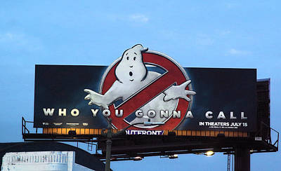 Ghost Busters Photograph - Ghostbusters In La by Viktor Savchenko