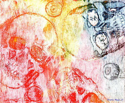 Mixed Media - Ghosted Multi by Shana Rowe Jackson