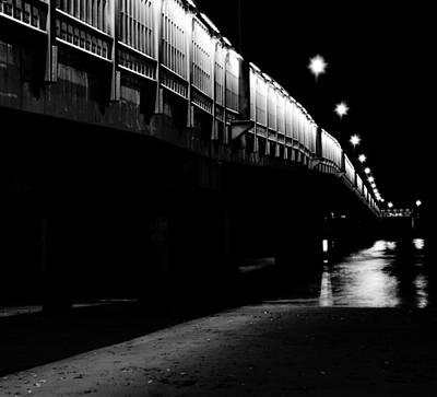 Blue Photograph - Ghostlights by Andrea Mazzocchetti