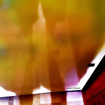 Photograph - Ghostly Abstract by Lenore Senior
