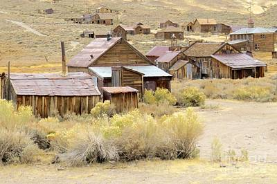 Photograph - Ghostly Bodie by Frank Townsley