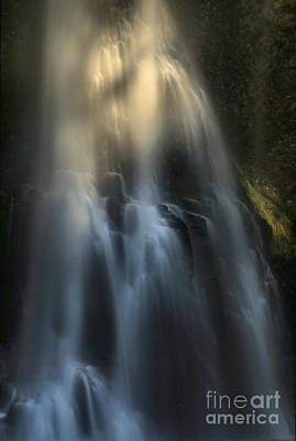 Photograph - Ghostly Cascades by Adam Jewell