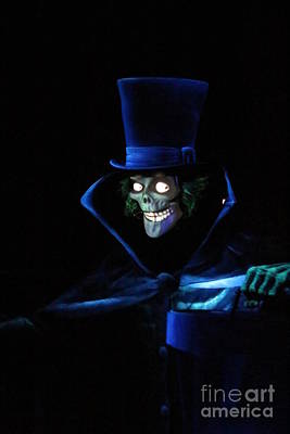 The Haunted Mansion Photograph - Ghostly by Disneylandrea