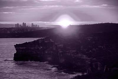 Photograph - Ghostly Sunset by Miroslava Jurcik