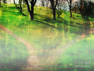 Photograph - Ghostly Trails 3 by Ed Churchill