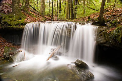 Photograph - Ghostly Waterfall by Douglas Barnett