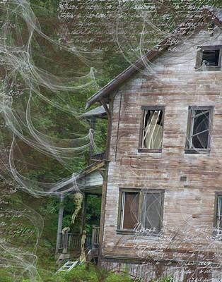 Digital Art - Ghosts by Nadine Berg