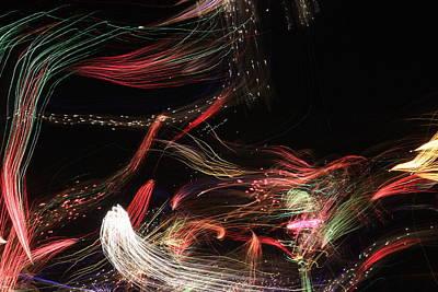 Ghosts Of Fireworks Past Art Print by Jonathan Kotinek