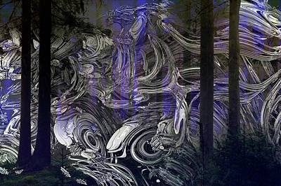Recondite Digital Art - Ghosts Of Forests Past by GT Graeff