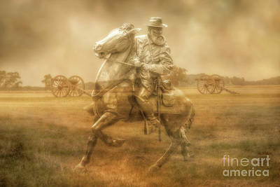 Digital Art - Ghosts Of Gettysburg Rework by Randy Steele
