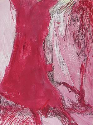 Painting - Ghosts Of The Horror Tree by Judith Redman