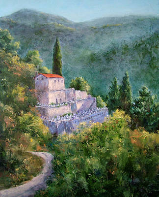 Ghosts Of The Peloponnese Art Print
