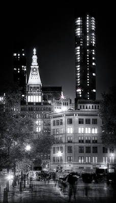 Photograph - Ghosts Of Union Square by Mark Andrew Thomas