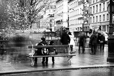 Photograph - Ghosts On The Street by John Rizzuto