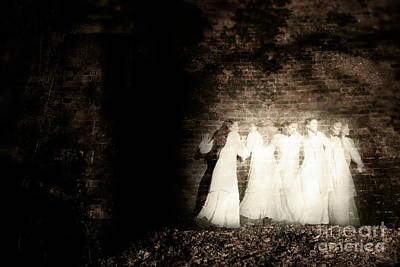 Photograph - Ghosts Within The Asylum by Clayton Bastiani