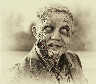 Photograph - Ghoulish Glee by Art Cole