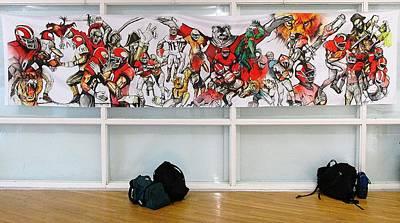 Painting - Ghsa Art Banner Prototype by John Jr Gholson