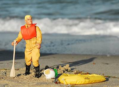 Photograph - Gi Joe Marooned by Jason Pepe