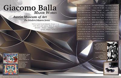 Giacomo Balla Magazine Spread Original by Leon Gorani