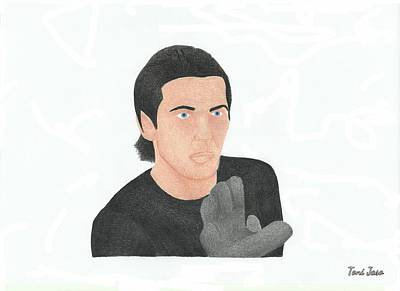 Drawing - Gianluigi Buffon by Toni Jaso