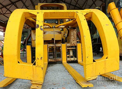 Photograph - Giant Agricultural Machine by Yali Shi
