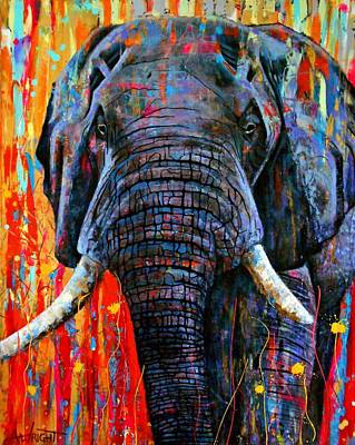 Painting - Giant by Angie Wright