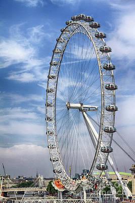 Photograph - Giant Ferris Wheel by Teresa Zieba