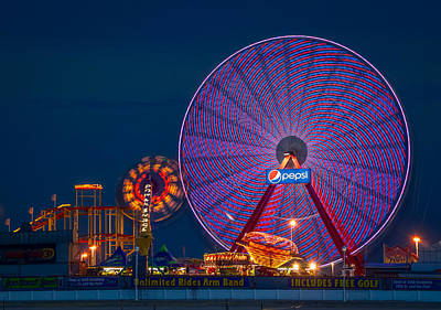 Giant Ferris Wheel Art Print