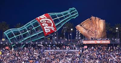 Photograph - Giant Glove And Coke Bottle by Eric Tressler