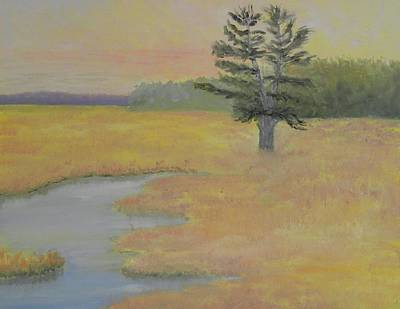 Painting - Giant In The Marsh by Scott W White