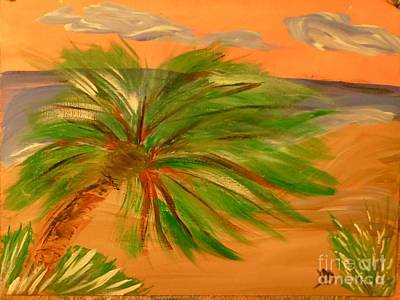 Painting - Giant Palm Tree by Marie Bulger