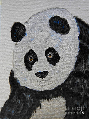 Painting - Giant Panda by Ella Kaye Dickey