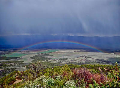Photograph - Giant Rainbow by Don Mercer