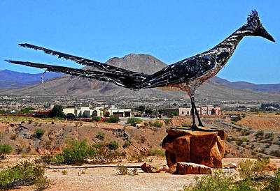 Photograph - Giant Roadrunner 2 by Ron Kandt