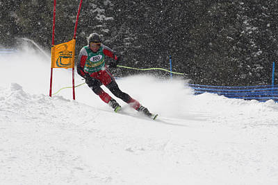 Photograph - Giant Slalom Racing by Pat Moore