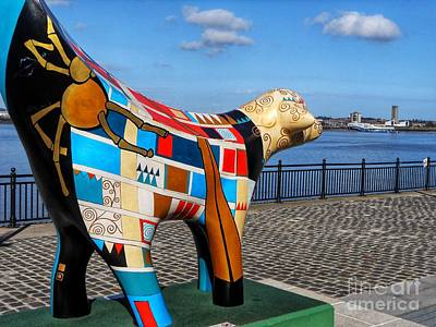 Photograph - Giant Spider Lambanana At The Waterfront by Joan-Violet Stretch