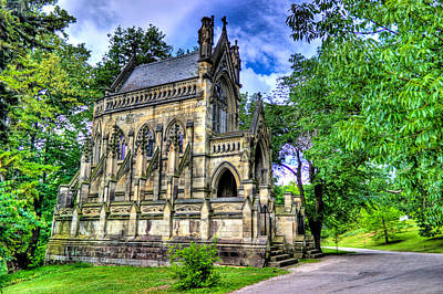Photograph - Giant Spring Grove Mausoleum by Jonny D