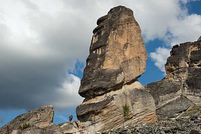 Observer Photograph - Giants And Lilliputians. by Sergey Karpukhin