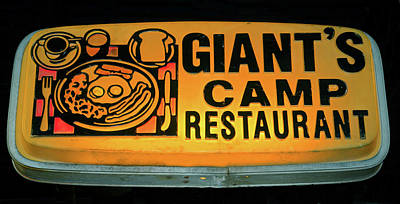 Photograph - Giant's Camp 1950 To 1999 by David Lee Thompson