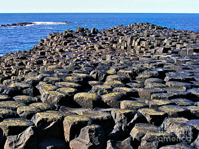Photograph - Giant's Causeway 2 by Nina Ficur Feenan
