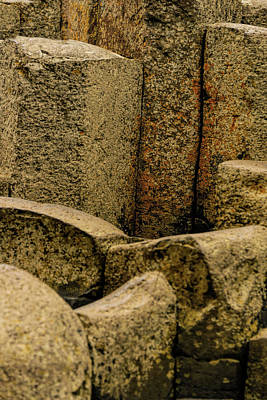 Photograph - Giant's Causeway #3 by Elvis Vaughn