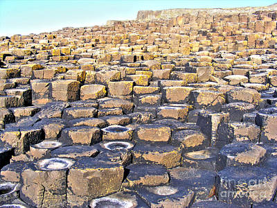 Photograph - Giant's Causeway 3 by Nina Ficur Feenan