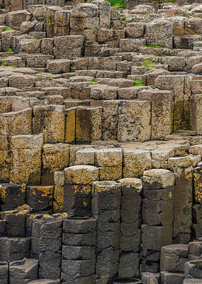 Photograph - Giant's Causeway #4 by Elvis Vaughn