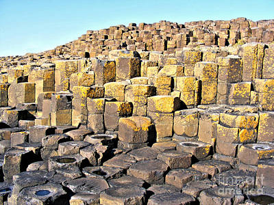 Photograph - Giant's Causeway 4 by Nina Ficur Feenan