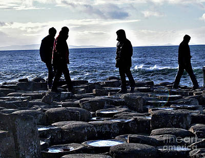 Photograph - Giant's Causeway Coast 4 by Nina Ficur Feenan