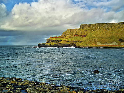 Photograph - Giant's Causeway Coast 5 by Nina Ficur Feenan