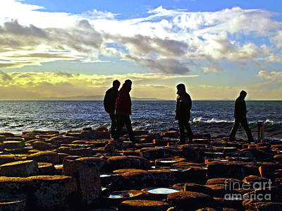 Photograph - Giant's Causeway Coast 6 by Nina Ficur Feenan