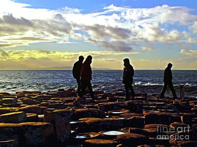 Photograph - Giant's Causeway Coast 6 by Nina Ficur Feenan